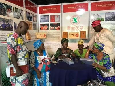 第四届对非投资论坛开幕,湘益茯茶与非洲友人再续茶缘